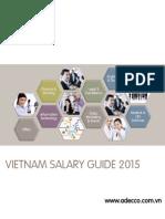 Adecco Vietnam Salary Guide 2015