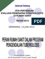Inventarisasi Masalah TB Care Di RS