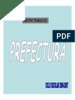 Reporte Prefectura 2016