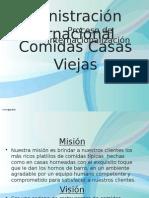 Presentacion de Admin. Internacional