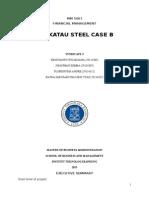 Analisis Krakatau Steel (B)