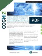Legacy Enterprise Systems Modernization