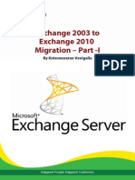 Exchange 2003 to 2010 Migration – Part -1 - Happiest Minds