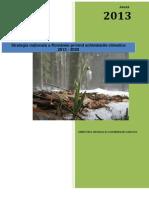 Strategia Nationala Pe Schimbari Climatice 2013 2020