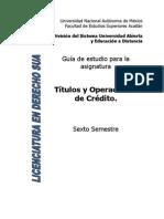 30 Titulos y Operaciones de Credito