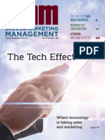 Sales and Marketing Management Tech Effect 2015 Julaug