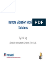 Remote Vibration Monitoring Solutions