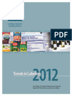 Trends Labeling Exec Summary