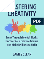 James Clear - Mastering Creativity - Copy