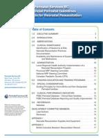 PSBC Guideline Newborn Resuscitation