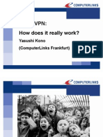 2009 CPUG CON EUROPE Kono Yasushi IPSec VPN How Does It Really Work