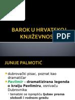 Barok u hrvatskoj književnosti