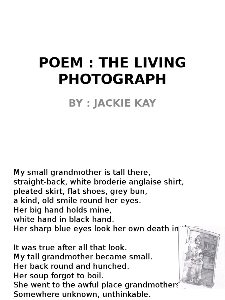 Poem The Living Photograph Poetry