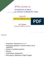 20 Lilavati I (MSS)