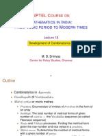 18 Comibanatorics I (MDS)