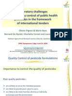 CIPAC Lecture QC Pesticides