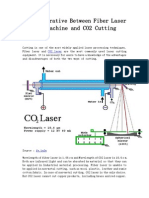 The Comparative Between Fiber Laser Cutting Machine and CO2 Cutting Machine