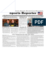 August 26 - 31, 2015 Sports Reporter