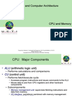 Operating System and Computer Architecture (CT049-3-1-OS)
