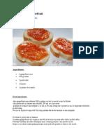 Dulceata de Grapefruit