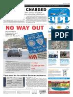 Asbury Park Press front page Thursday, Aug. 27 2015