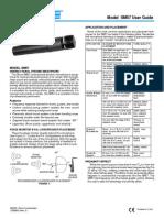 Manual de Instrucciones Microfono Shure Sm57