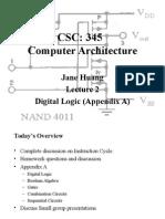 Digital Logic- Computer Architecture