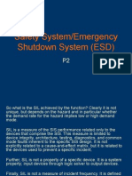Safety System - Emergency Shutdown System P2