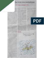 """""""Expoliación escandalosa"""", 26-8-2015. Autor. José Fernández, Coronel del Ejército de Tierra."""