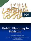 Public Planning in Pakistan