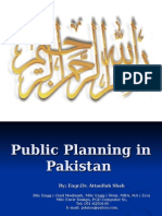 Public Planning in Pakistan