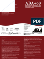 Folder ABA 60 anos