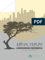 Jurnal Hukum Lingkungan Indonesia Vol. 1 Issue 2 (