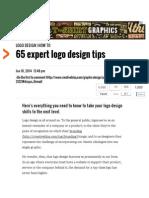 65 expert logo design tips _ Logo design _ Creative Bloq.pdf