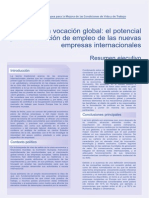 Informe Born Global