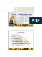 Cx31 Cat Transmission-student Handout