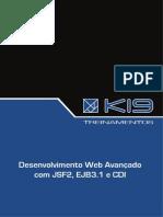 Desenvolvimento Web Avançado - JSF2, EJB3.1 E CDI