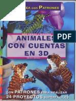 OK - 24 Proy.- Crea Con Patrones Abalorios.animales Con Cuentas en 3D