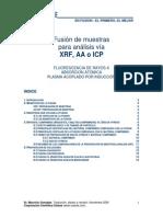 Fusión de muestras para análisis vía XRF  AA o ICP.pdf