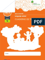 Cuaderno de Trabajo Lenguaje