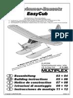 Schwimmer-Bausatz EasyCub