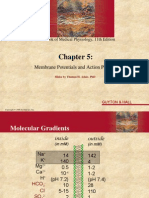 Membrane Potentials - Ch. 5
