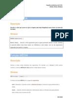 funções estatísticas
