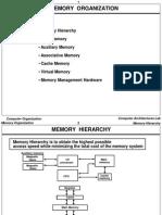 Ch12 Memory Organization
