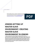 Jenkins - setting Up Master Slave Environment-creating Master Slave Environment