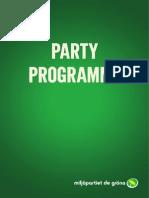 Mp Partiprogram English