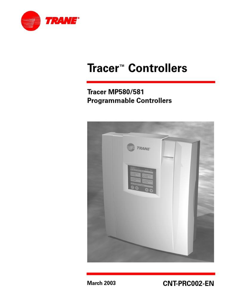trane mp581 pdf hvac building automation rh scribd com trane tracker manual trane tracer es manual