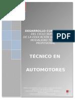 Técnico en Automotores
