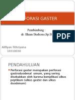 Perforasi Gaster Ali