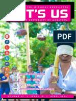 It's Us - April 2015 Edition